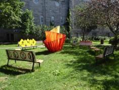 Un petit parc coloré