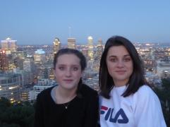 Les filles au Mont Royal
