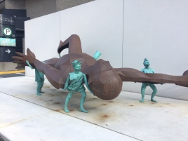 Sculpture Place des arts