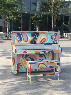Piano Place des Arts