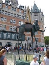 L'éléphant spatial, oeuvre de Salvador Dali