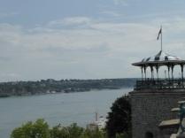 Vue sur le St Laurent