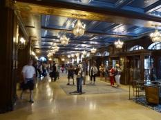Le hall du Chateau Frontenac (c'est un hôtel)