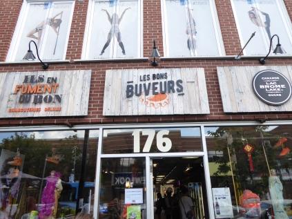 Une boutique totalement atypique