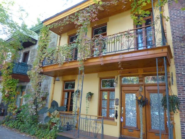 Les jolies maisons du Plateau Mont-Royal