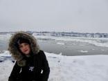 Le fleuve Saint Laurent (et Emma 🤣)