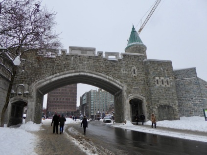Une des entrées de la ville