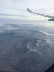 Aller - Au dessus de Bourg de Thizy (69)