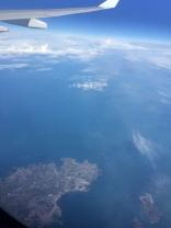 Retour - Au dessus de la Manche