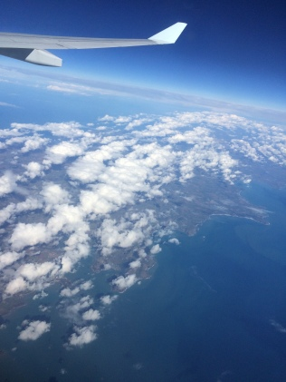 Retour - Au dessus de l'Angleterre