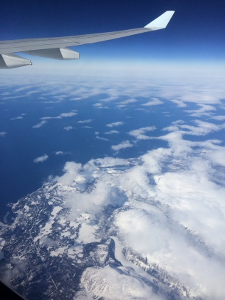 Retour - Au dessus de Terre Neuve