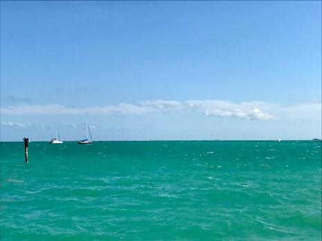 Et au loin, tous les petits points ce sont des kitsurfers... beaucoup de kitsurfers