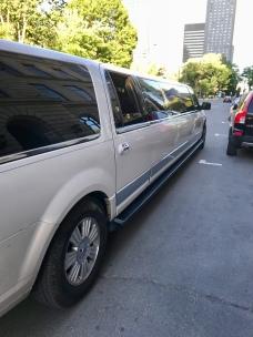 Même la limousine était là !