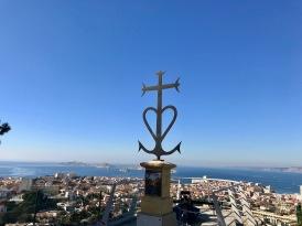 La vue depuis Notre Dame de la Garde