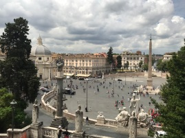 Rome _ Place du Peuple